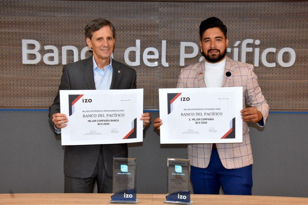 Banco del Pacífico recibe reconocimiento internacional por su experiencia al usuario
