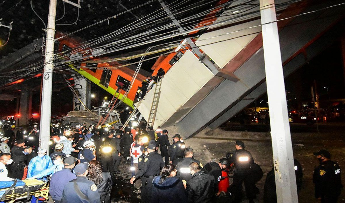 Fotos revelan que el accidente de tren en México pudo ser evitado
