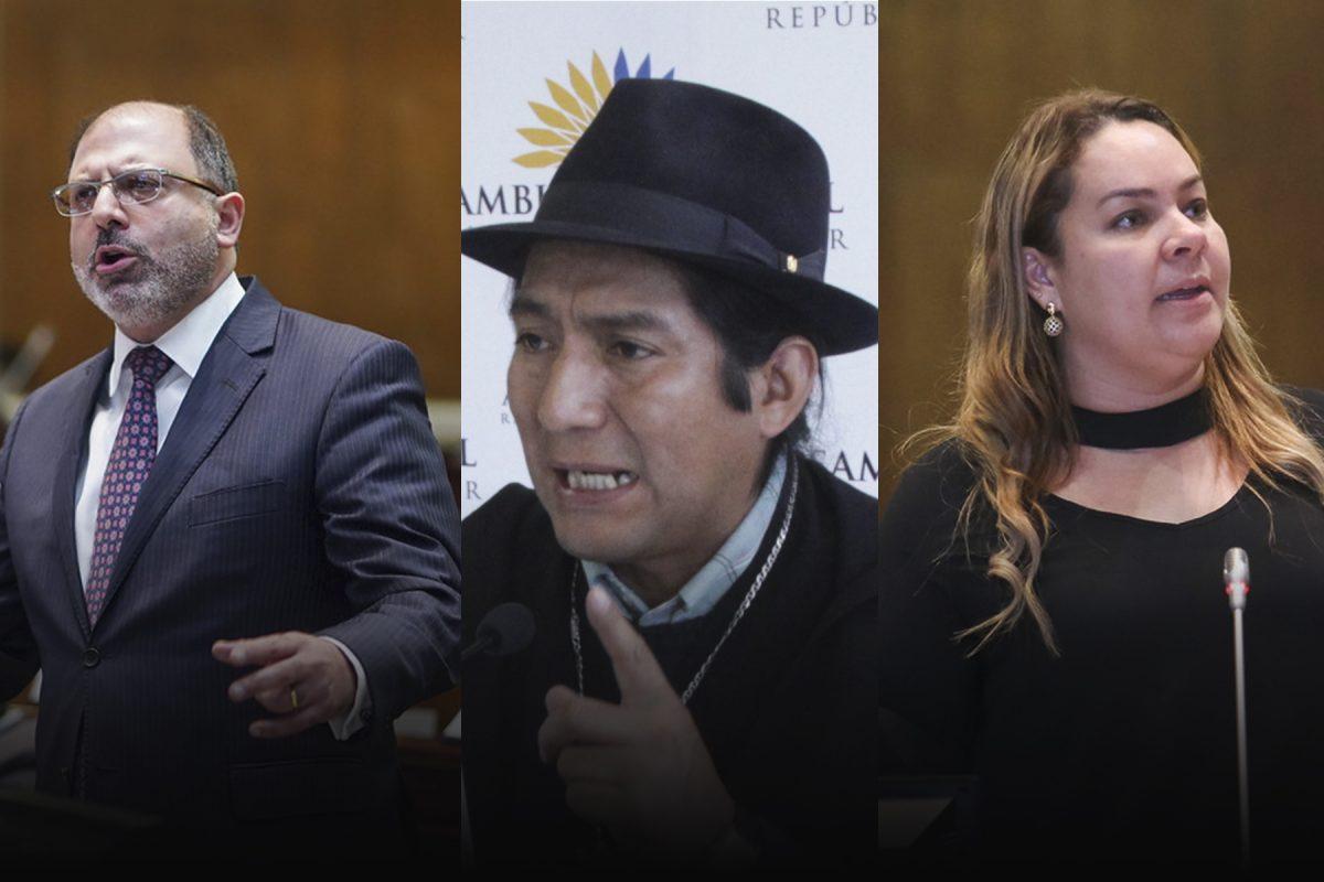 Asamblea Nacional rechaza 3 candidaturas para elegir a su presidente