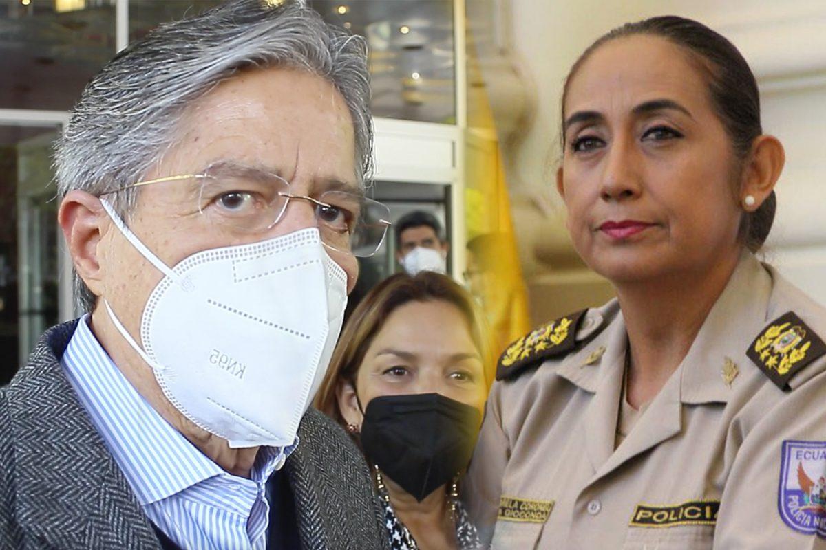 Guillermo Lasso asegura que Tanya Varela seguirá al mando de la Policía Nacional