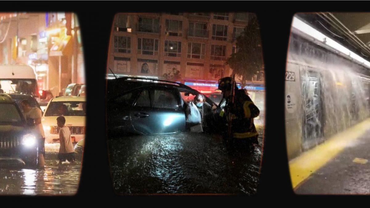 Tormenta Ida: Nueva York y Nueva Jersey en estado de emergencia por inundaciones