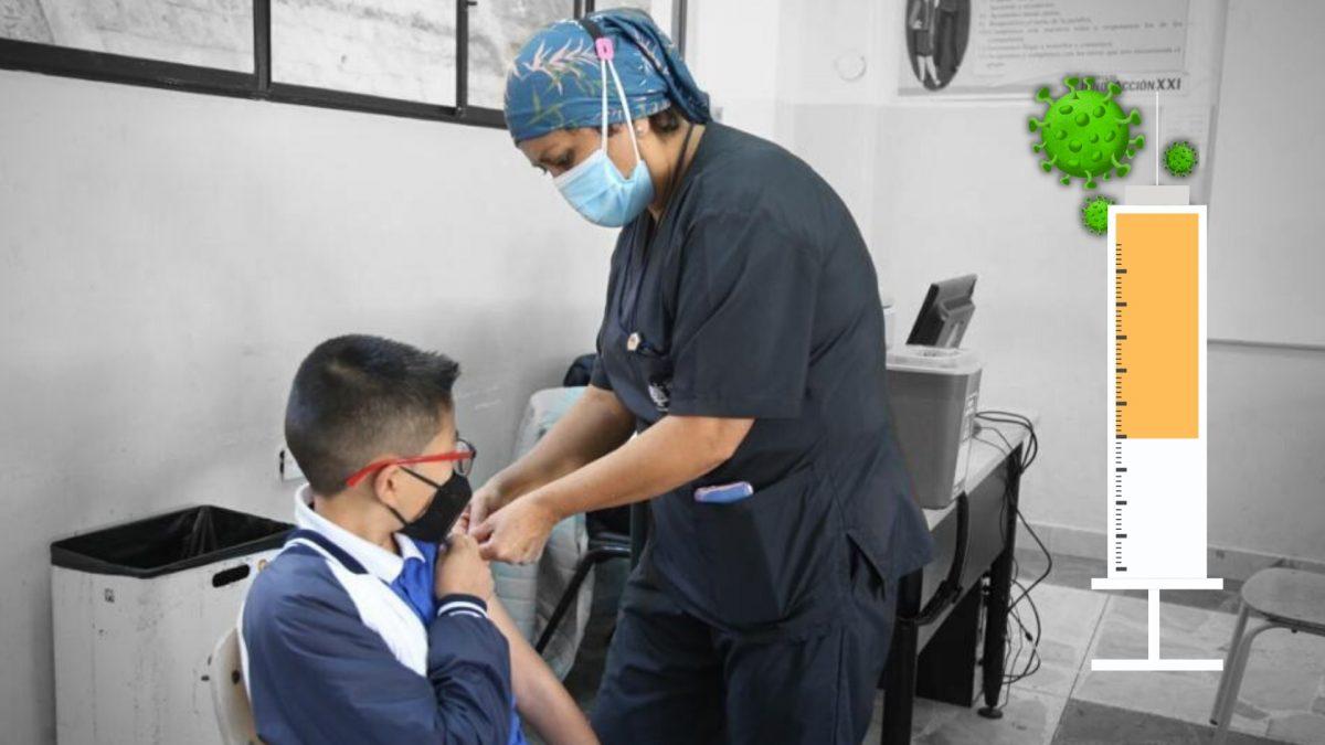 Entre 12 y 15 años: inicia la vacunación para niños y adolescentes contra el covid-19