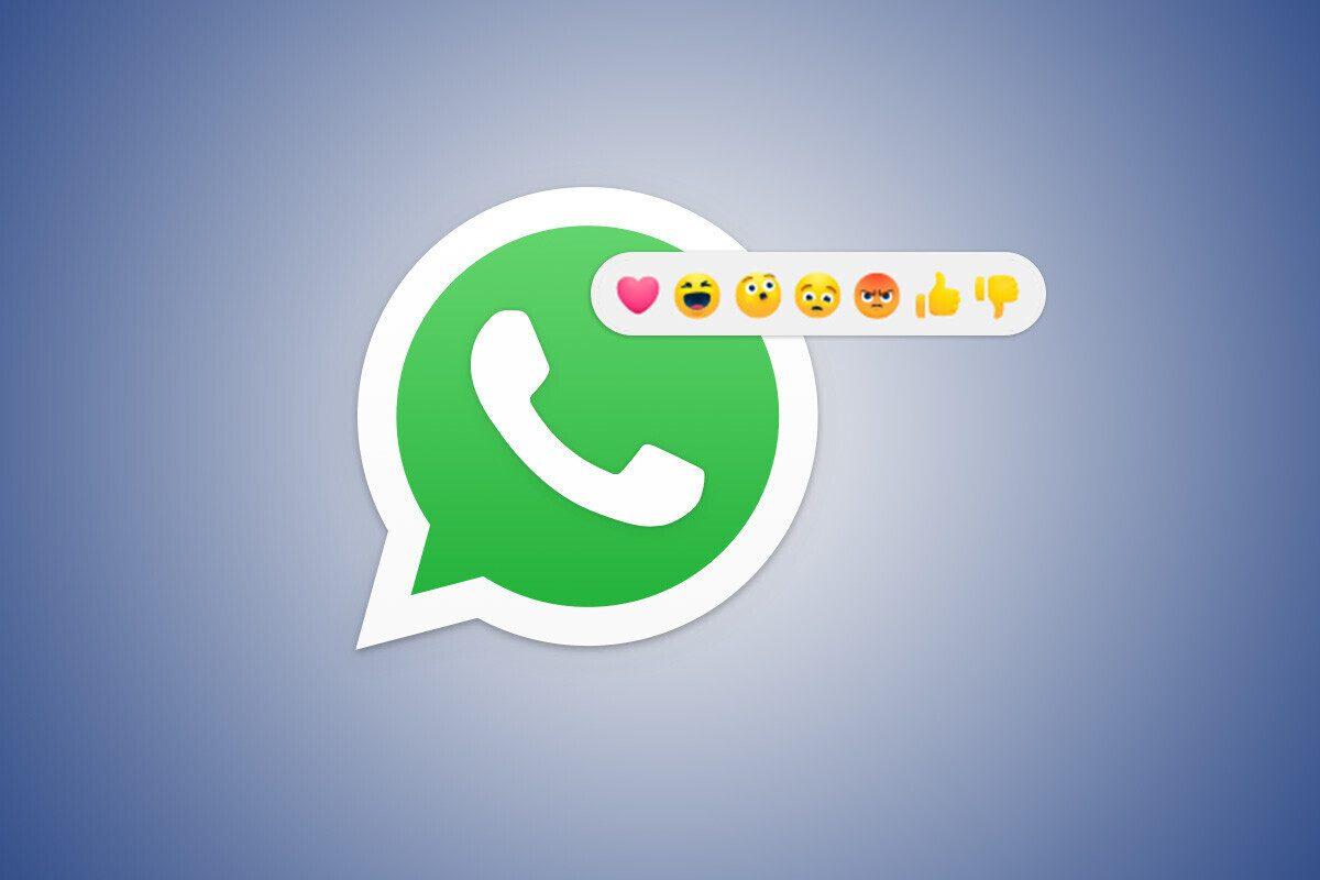 Reacciones en WhatsApp: así luce la nueva función de la app