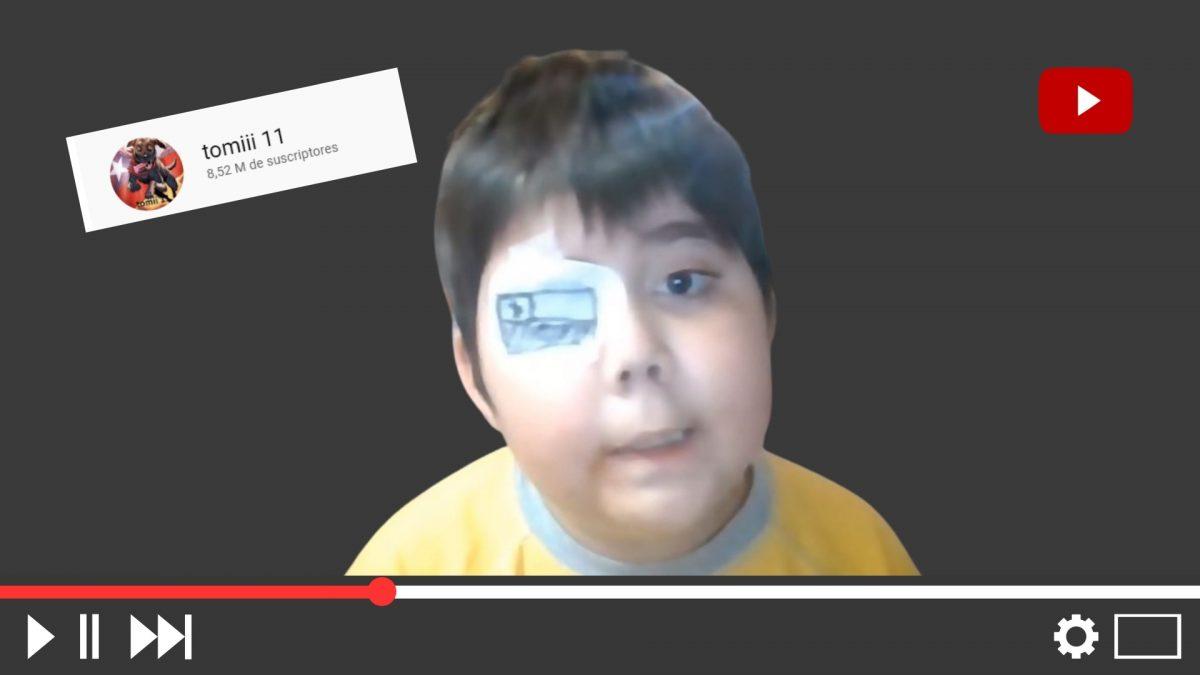 Falleció Tomiii 11, el pequeño youtuber con cáncer cerebral que conmovió Internet
