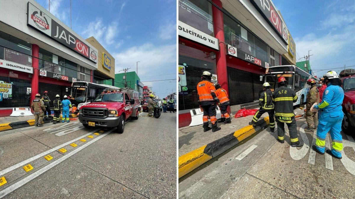 Una menor falleció y otra personas quedó herida tras accidente en La Alborada