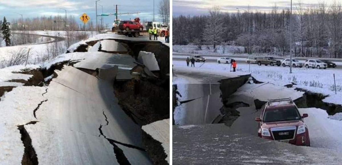 El fuerte sismo de magnitud 8,2 que sacudió la costa de Alaska