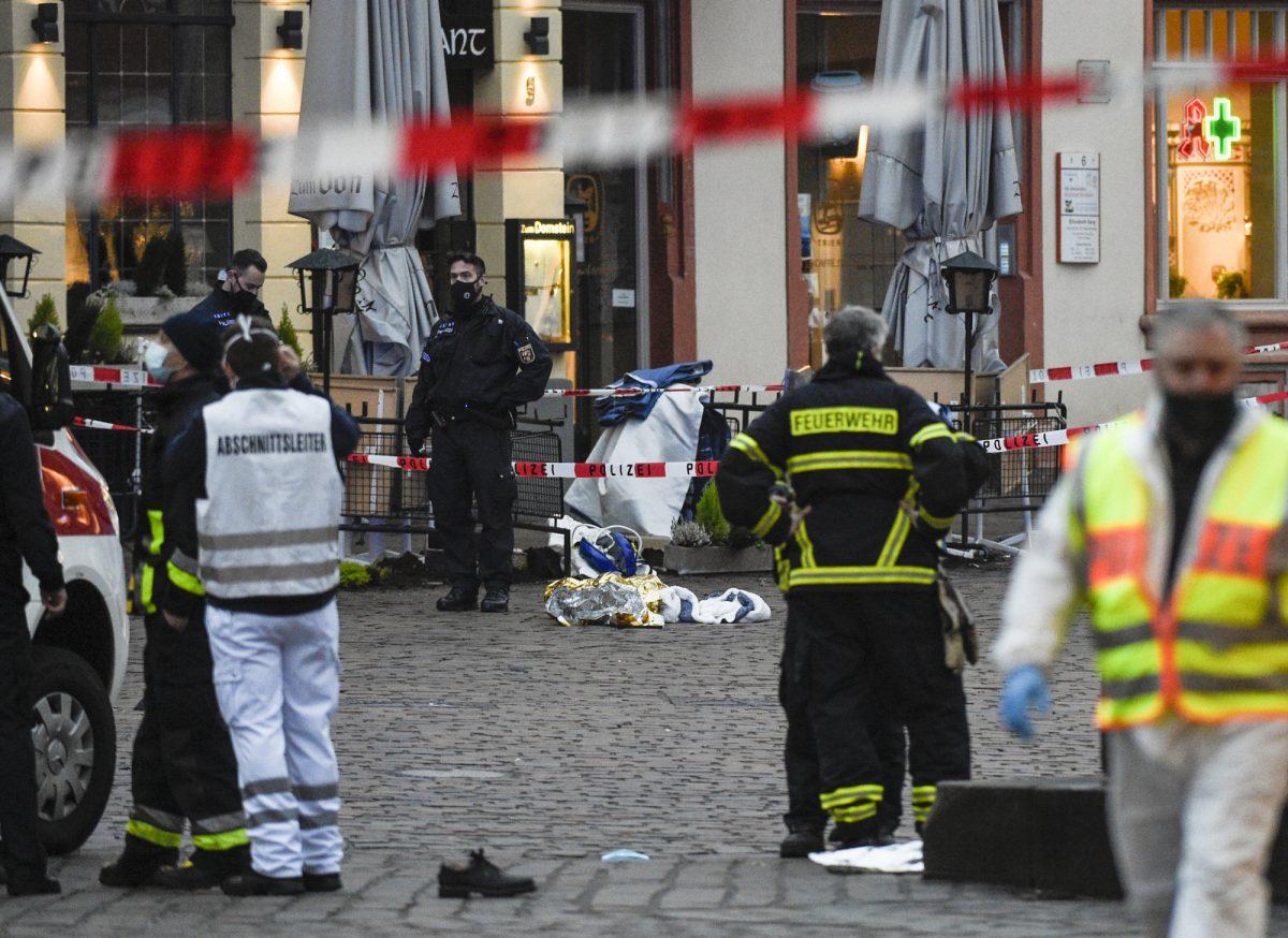Al menos cuatro muertos en un atropello múltiple en Alemania