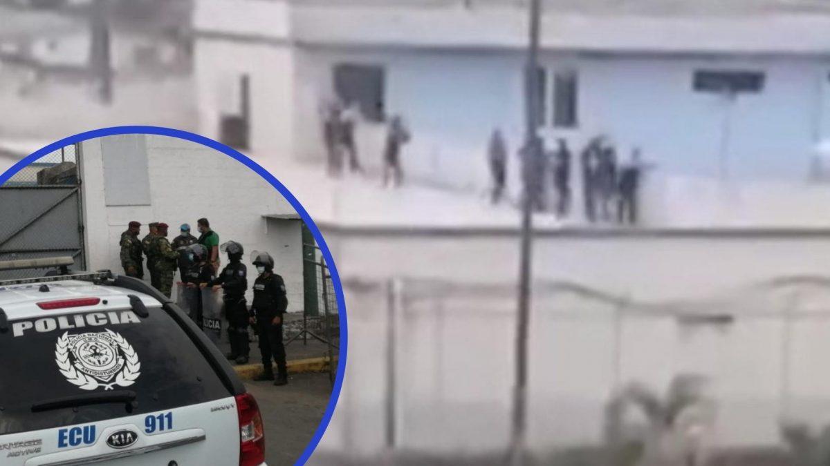 Seis muertos y tres heridos en enfrentamientos en la cárcel de Quevedo