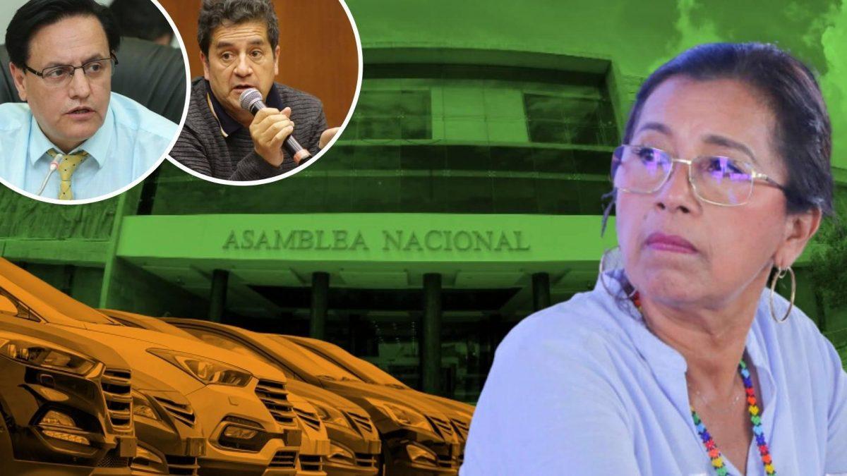 Presidenta de la Asamblea anunció que presentará una queja en contra de asambleístas que denunciaron la compra de vehículos de alta gama