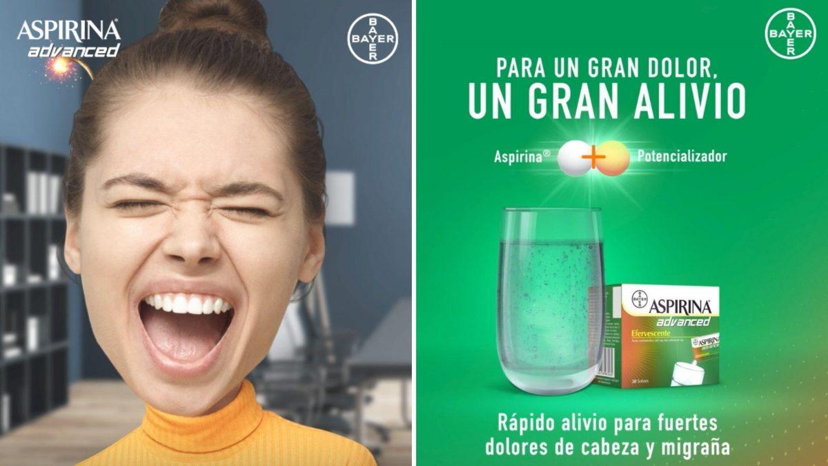 Para un gran dolor volvió un gran alivio: Aspirina Advanced
