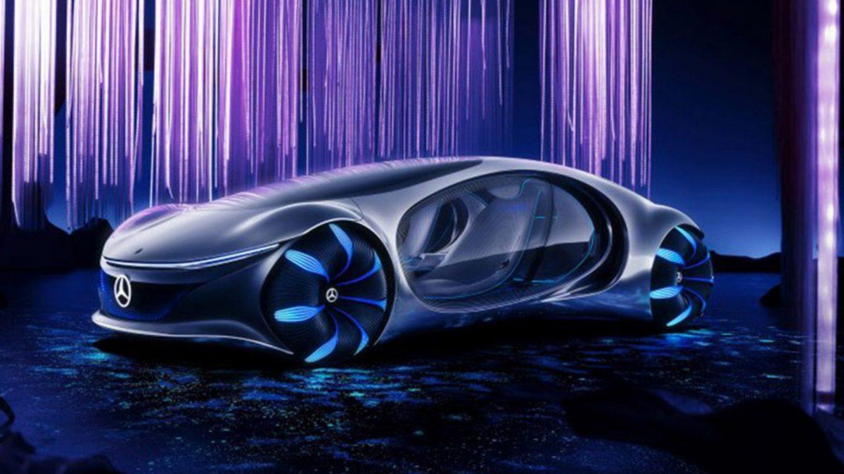 Así es el auto del futuro: sin volante y se maneja con la mente