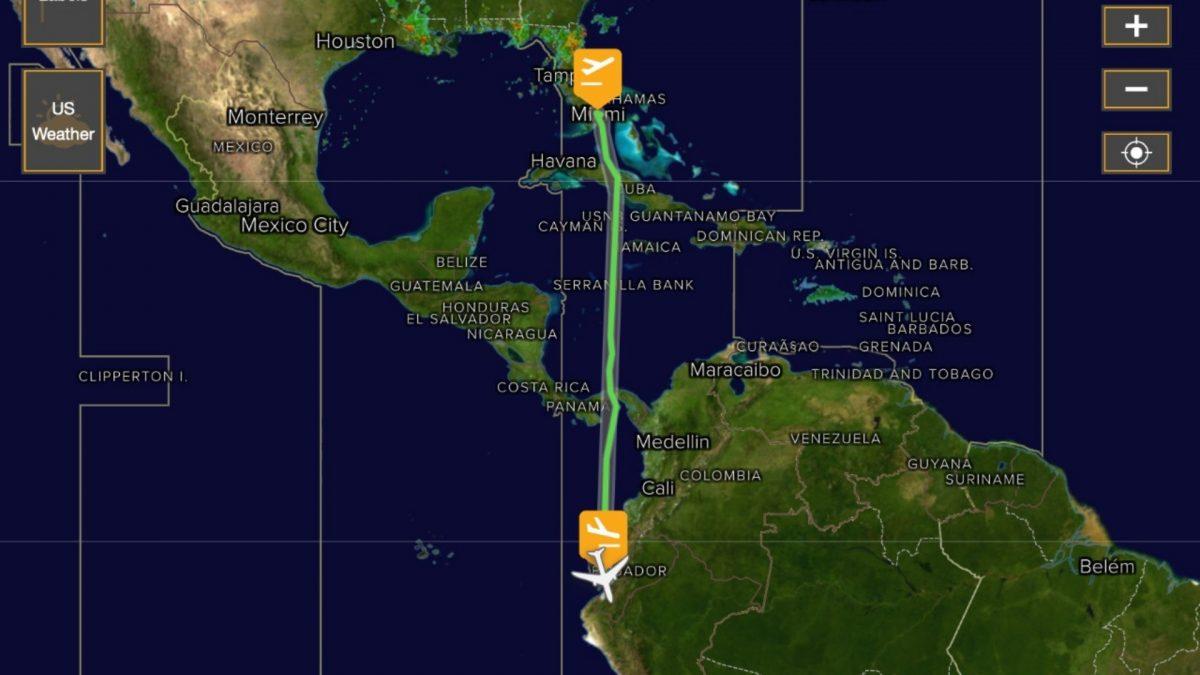 Gran susto en vuelo Miami-Guayaquil: pasajeros cuentan su experiencia