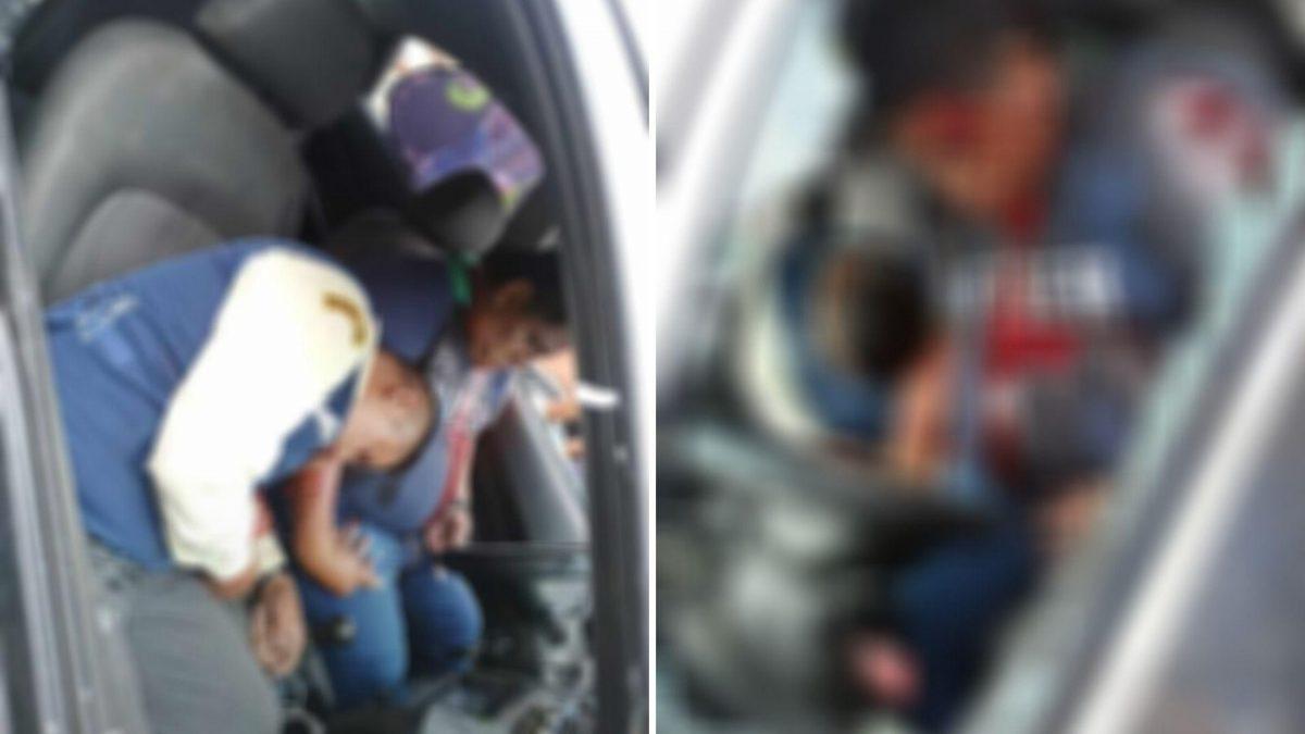 Dos hombres fueron baleados dentro de un carro en el suburbio de Guayaquil