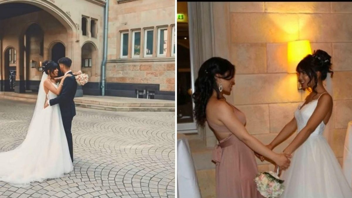 Mujer finge una boda para provocarle celos a su exnovio