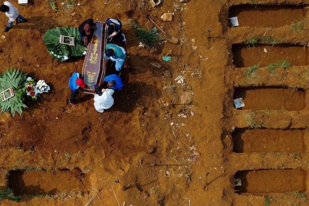 Brasil supera las 3.000 muertes por covid-19 en un solo día por primera vez