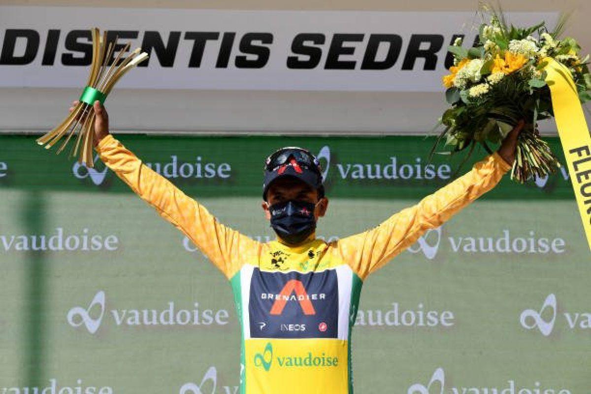 Richard Carapaz es el nuevo campeón del Tour de Suiza