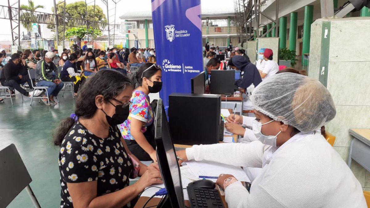 Esta es la última semana para recibir la primera dosis contra covid-19 en Ecuador