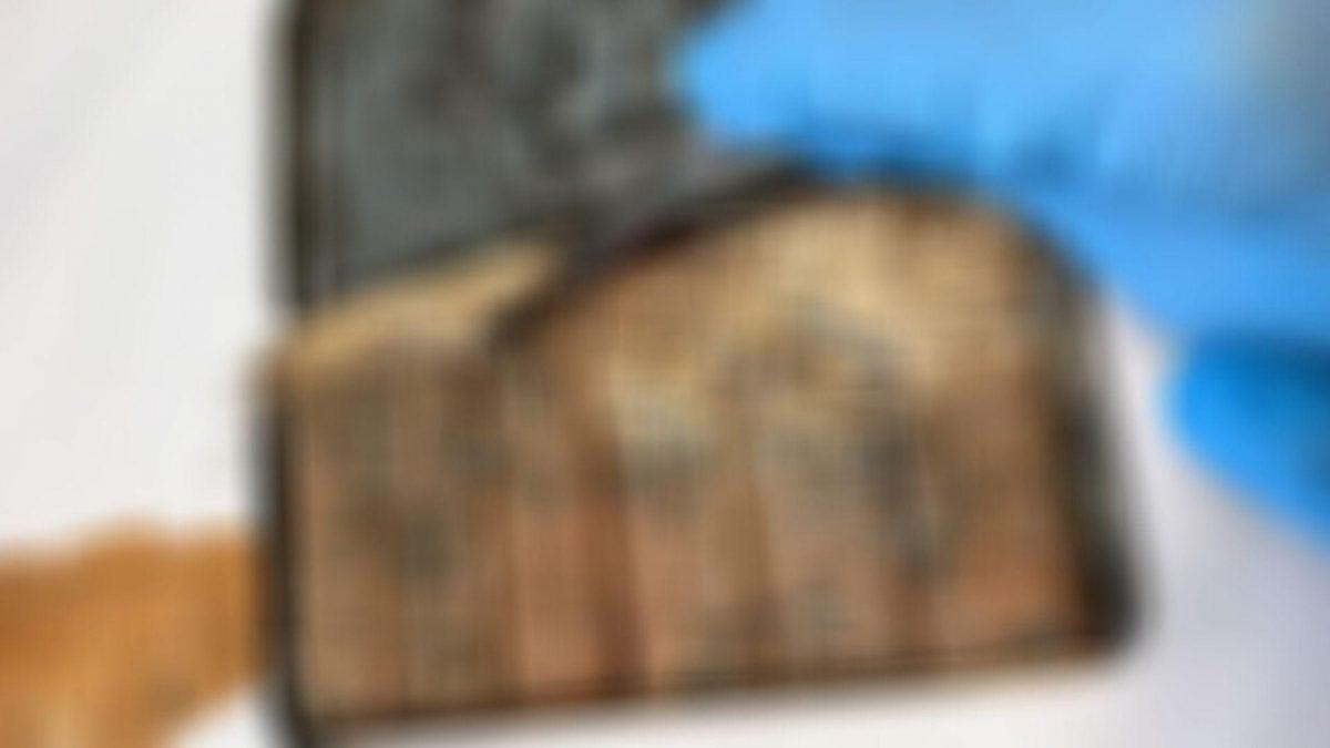 FOTO: Así luce una caja con chocolate de 120 años