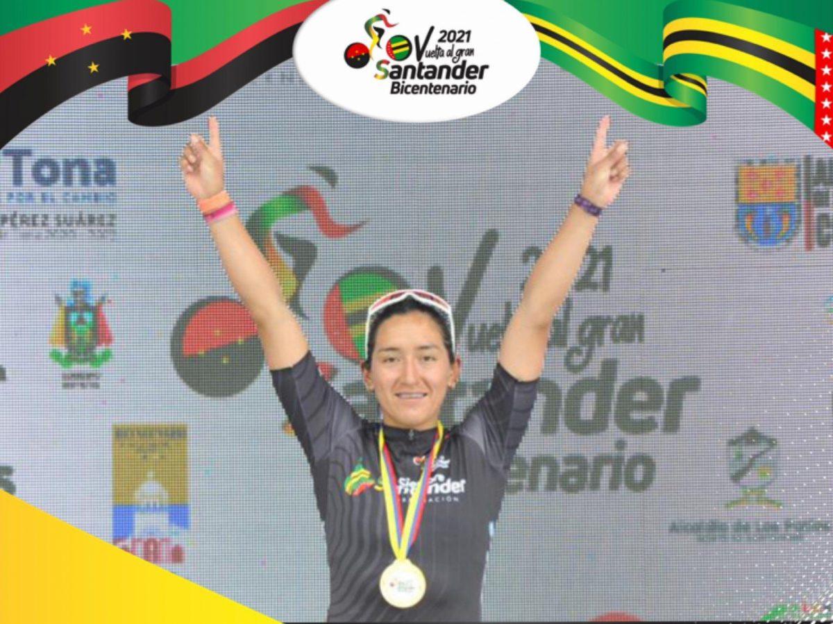 Ciclista ecuatoriana Myriam Nuñez se proclamó campeona en Colombia