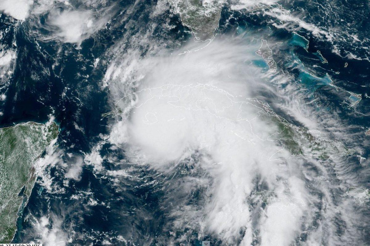 El ciclón Ida se convierte en huracán al acercarse a Cuba