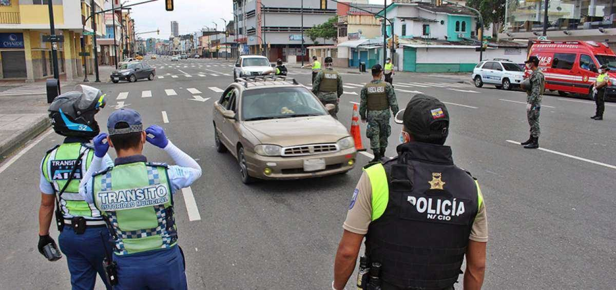 Estado de excepción en Ecuador ¿Qué día podrá circular mi vehículo?