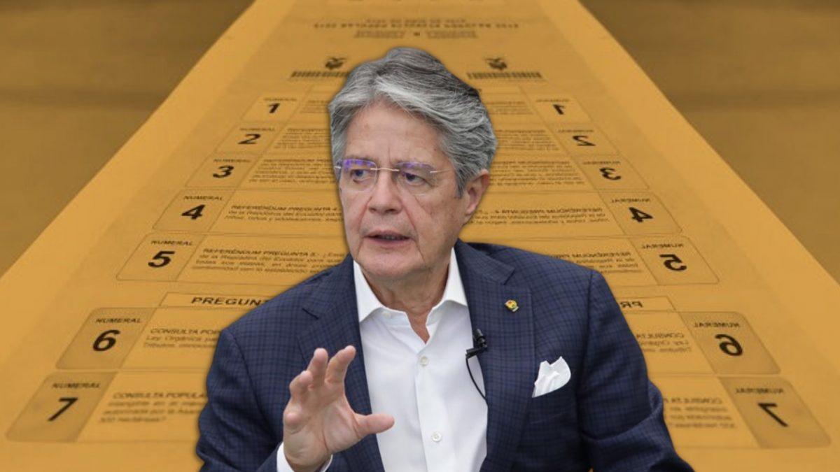 Presidente Guillermo Lasso anuncia consulta popular este año