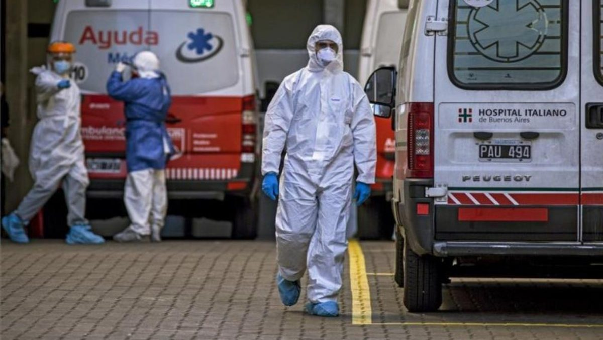 Argentina alcanza un millón de casos de Covid-19