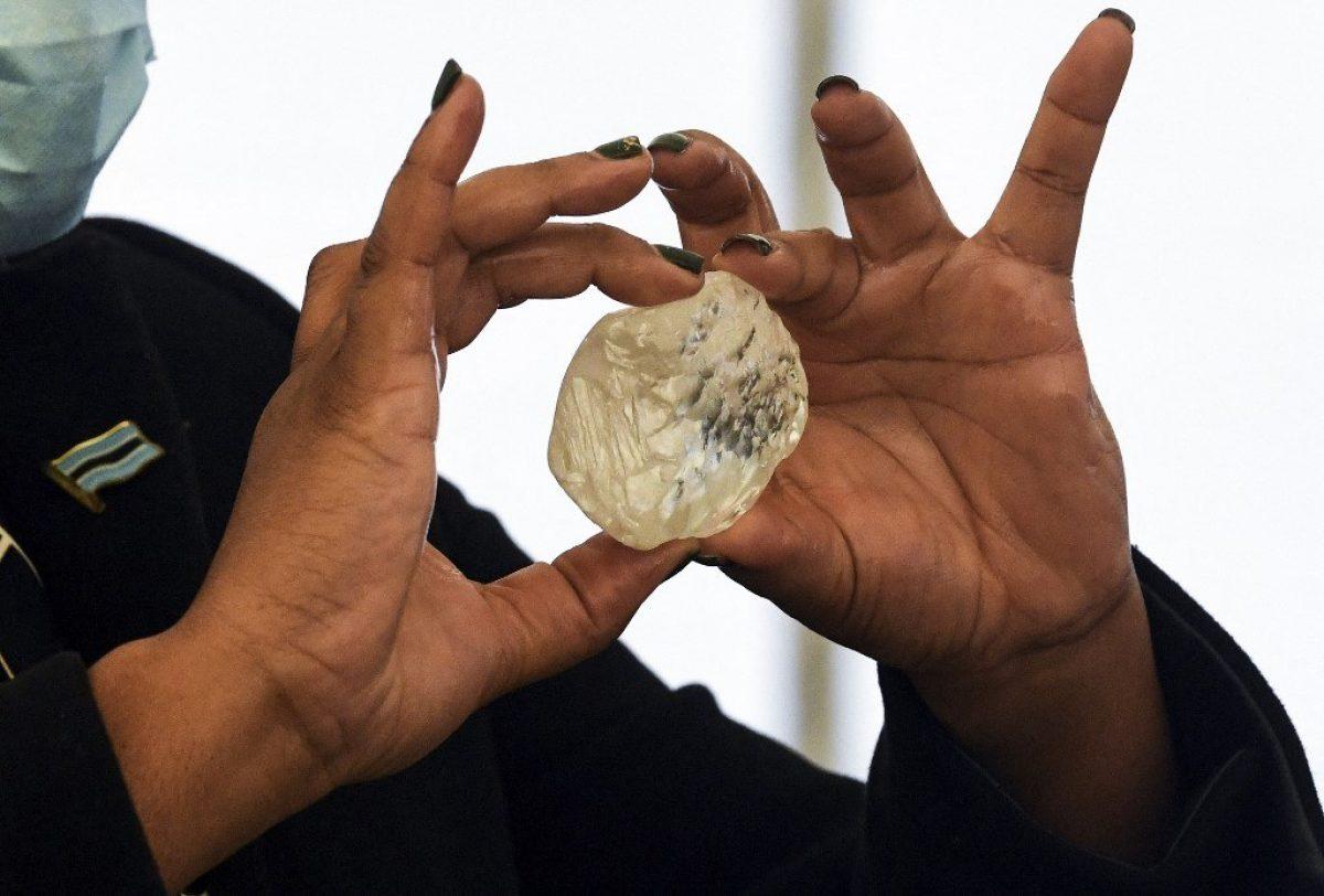 Botsuana anuncia el descubrimiento de un diamante excepcional