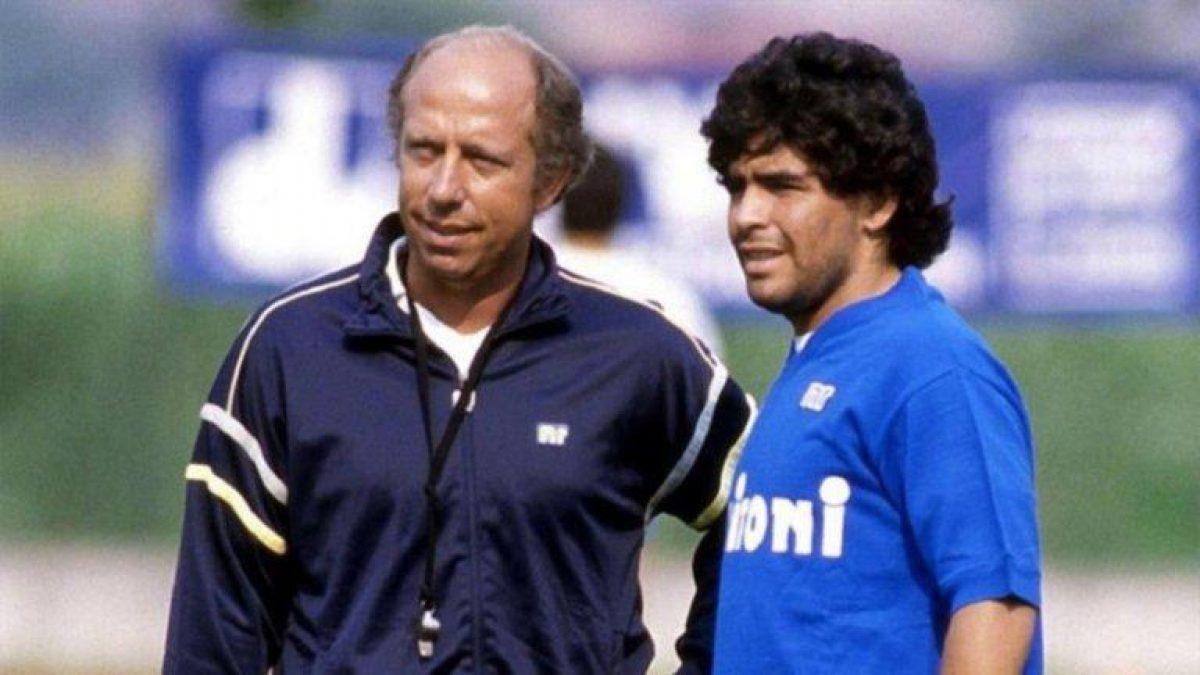 """Las confesiones del técnico de Maradona en el Napoli sobre su época en Italia: """"Diego estaba rodeado de gente mala, nadie quería ayudarlo"""""""