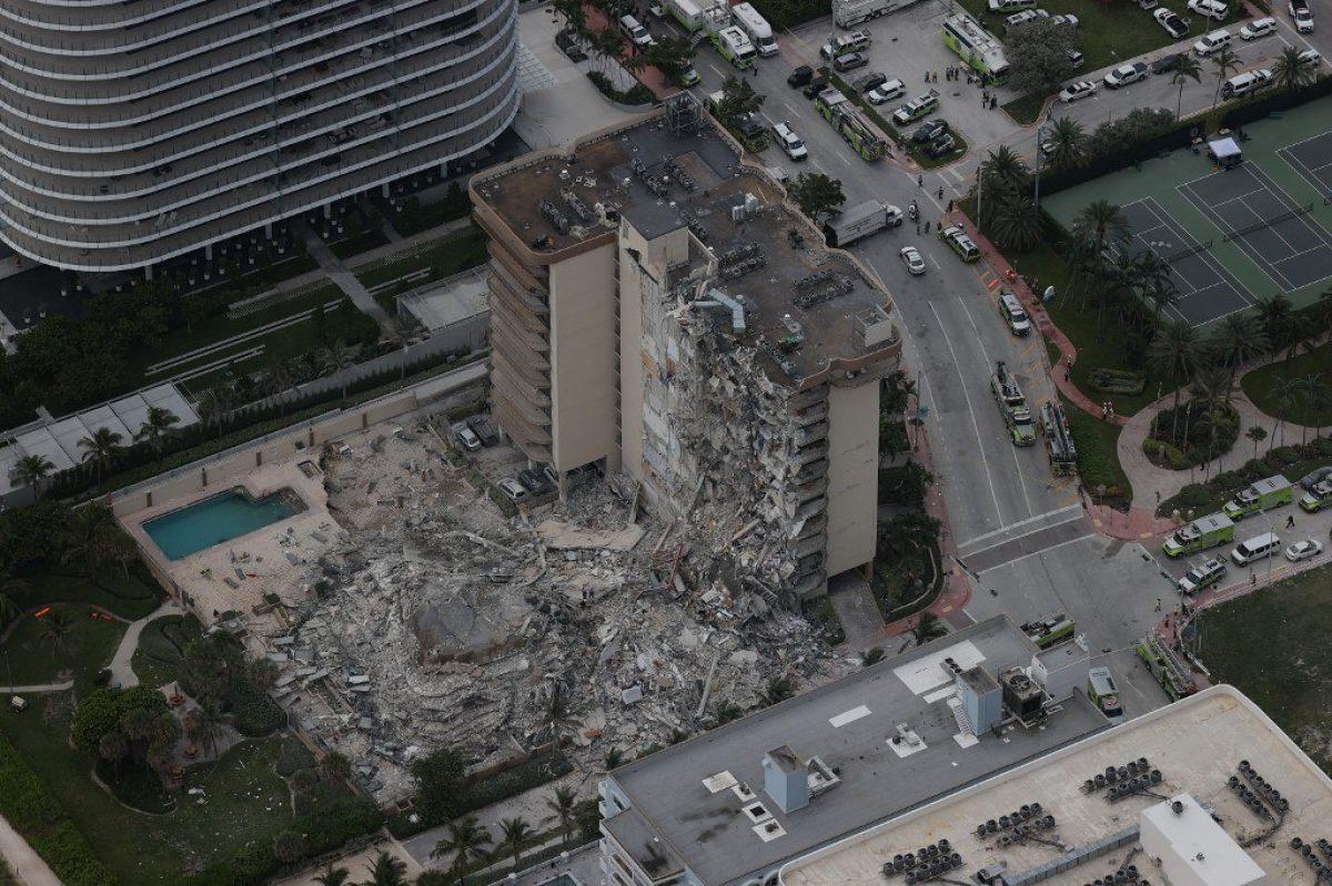 Al menos 18 latinoamericanos desaparecidos en derrumbe de edificio en Miami
