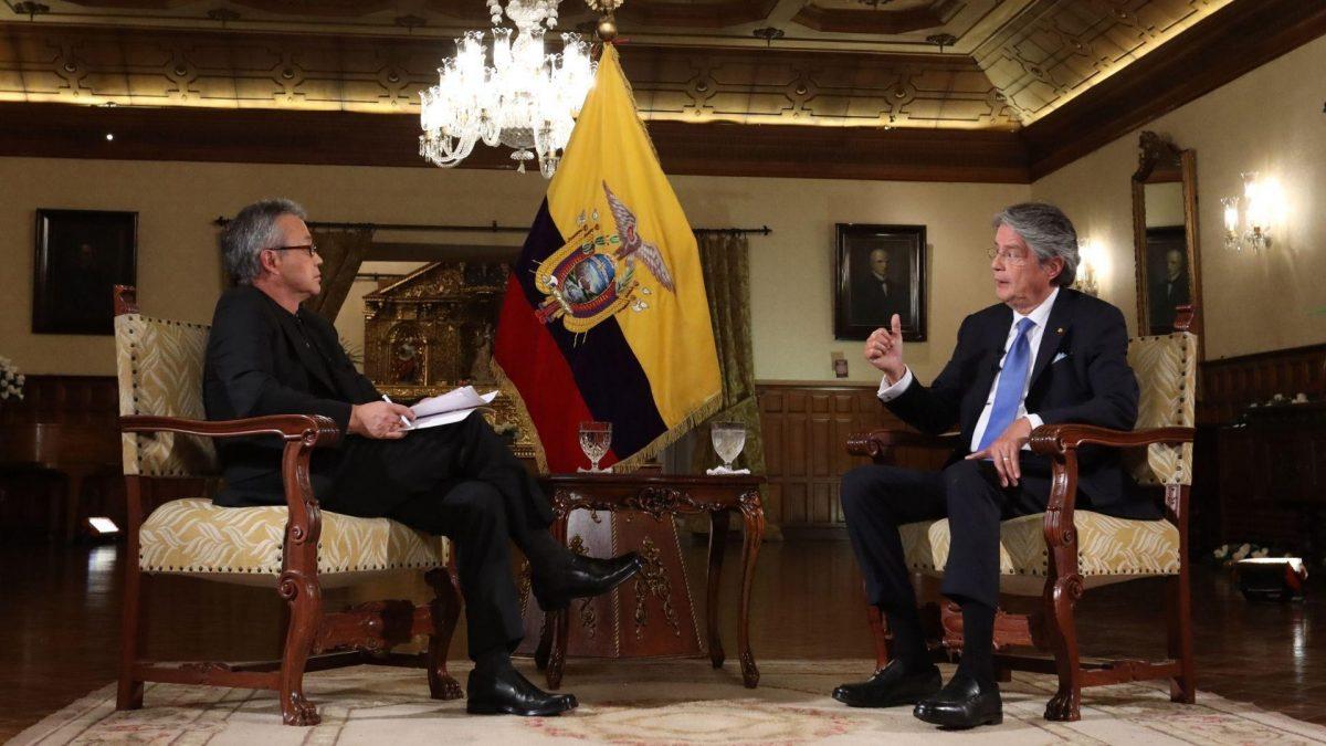"""Presidente Lasso: """"No vamos a derogar el decreto de los combustibles"""""""