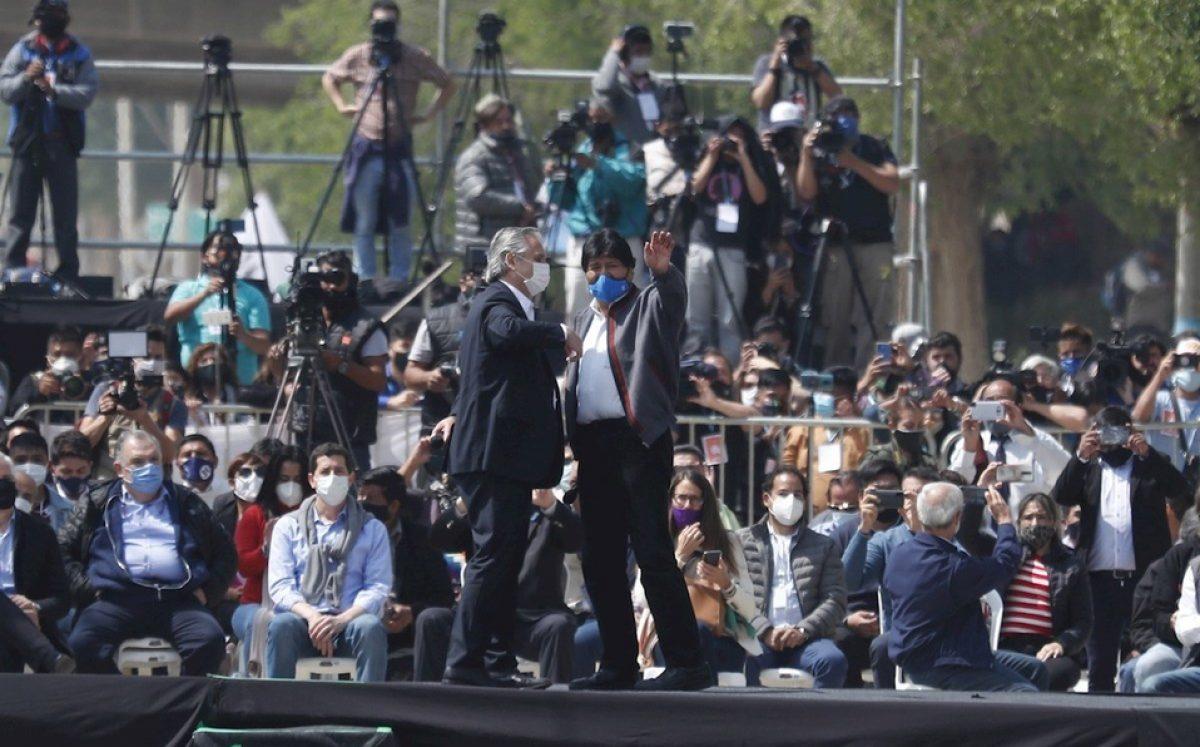 ¡ÚLTIMO MOMENTO! Evo Morales regresó a Bolivia luego de casi un año de exilio