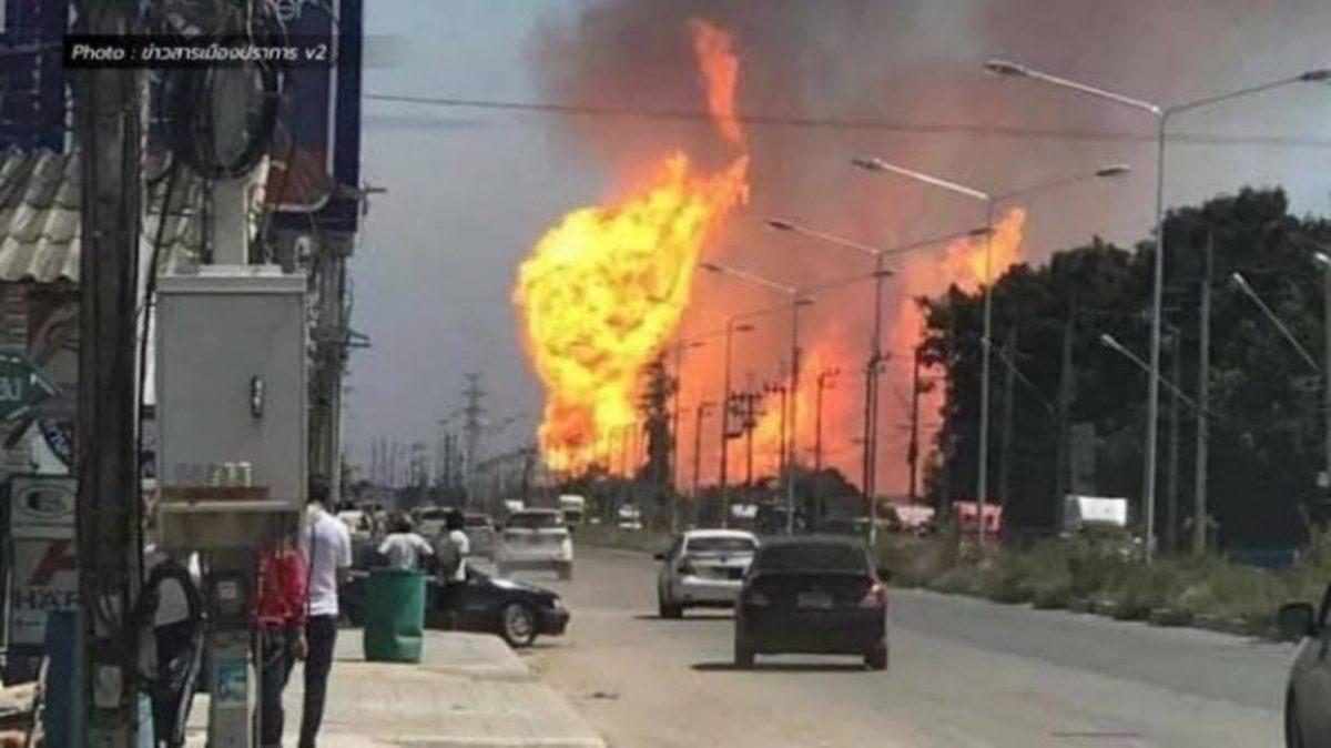 VIDEO | Al menos tres muertos y más de 50 heridos tras la explosión de un gasoducto en Tailandia