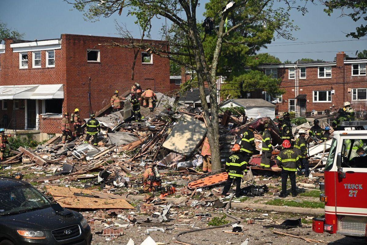 VIDEOS |  ¡ÚLTIMO MOMENTO!  Un muerto y al menos 3 heridos en estado crítico tras una gran explosión en Baltimore