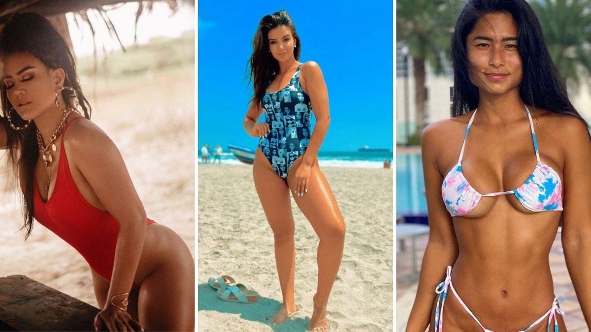 FOTOS | Las famosas vuelven a la playa: así posaron con sus sensuales bikinis