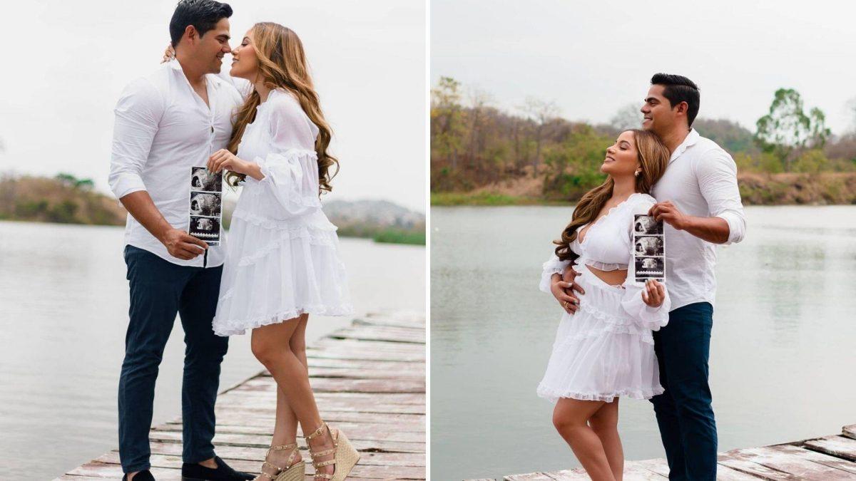 Fiorella Bruno y Jimar Vera anuncian la espera de su bebé con fotos
