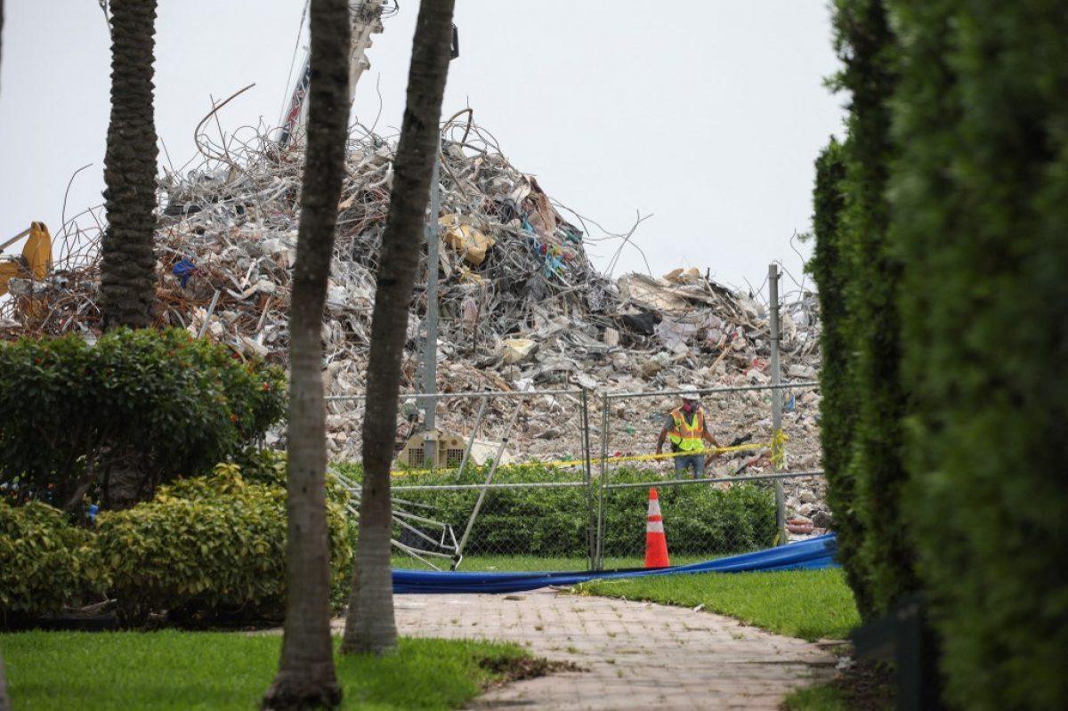 Plantean levantar un monumento en sitio donde se derrumbó edificio en Florida