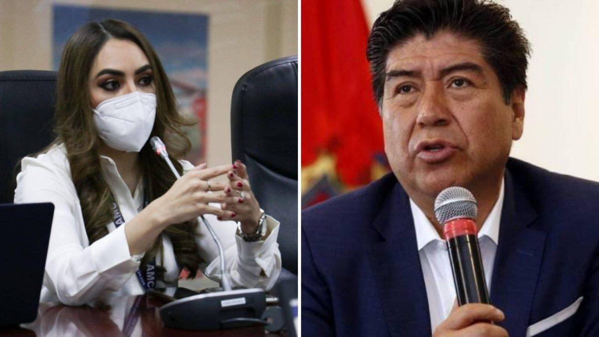 El alcalde de Quito pidió la renuncia de Gabriela Obando