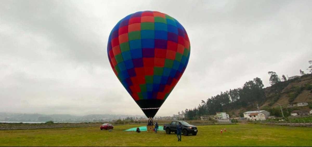 Vuelos en globos aerostáticos, una iniciativa turística que se fomenta en Imbabura