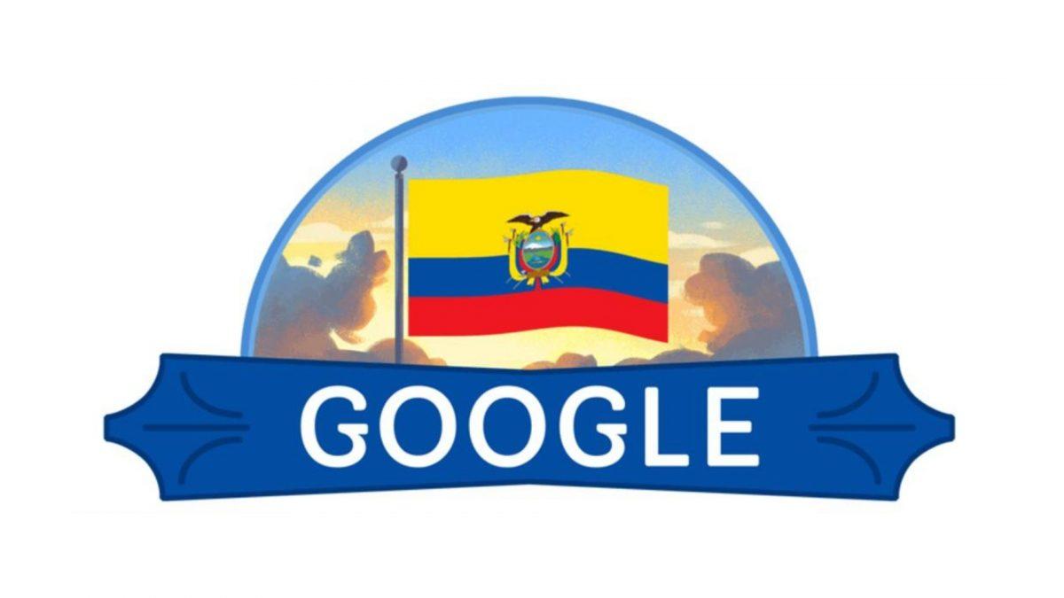 Google dedica su doodle a Ecuador para conmemorar el Primer Grito de Independencia