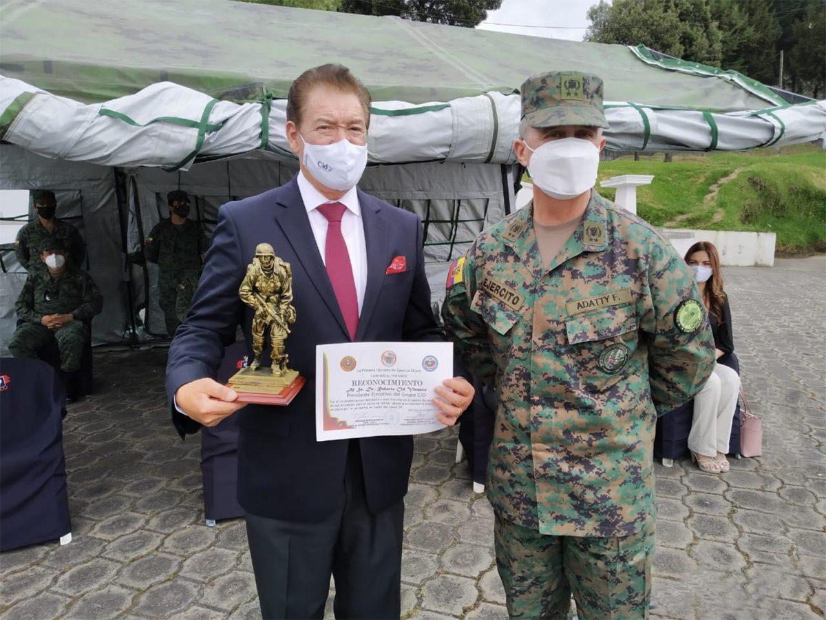 Grupo Corporativo Cid donó a las Fuerzas Armadas más de 9000 insumos para la crisis sanitaria