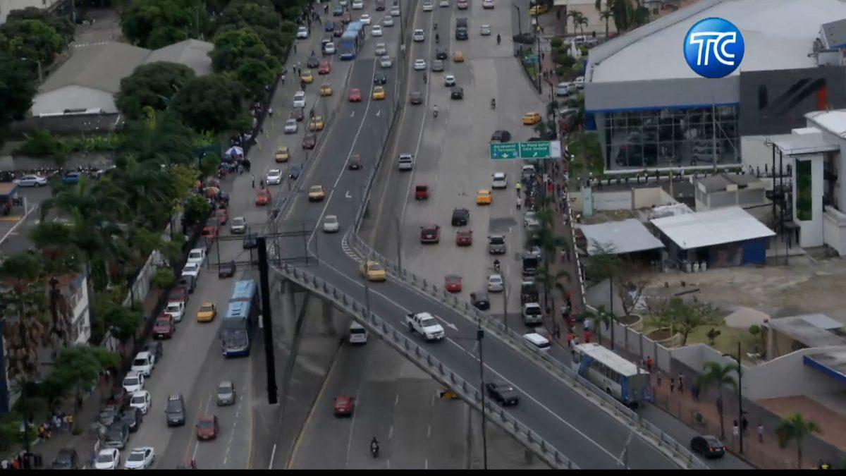 Así luce Guayaquil desde el aire  mientras se desarrolla la jornada electoral