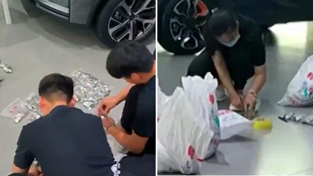 Insólito: hombre pagó con monedas un carro de 7.800 dólares