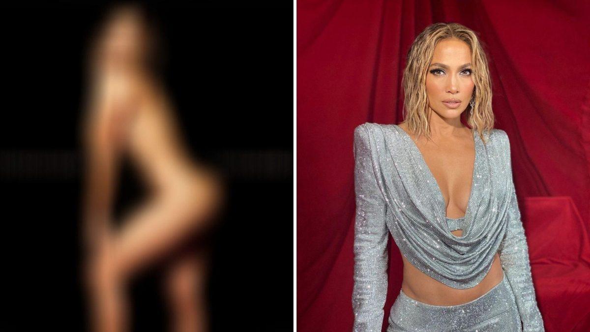 Jennifer López posa completamente desnuda para la portada de su nueva canción