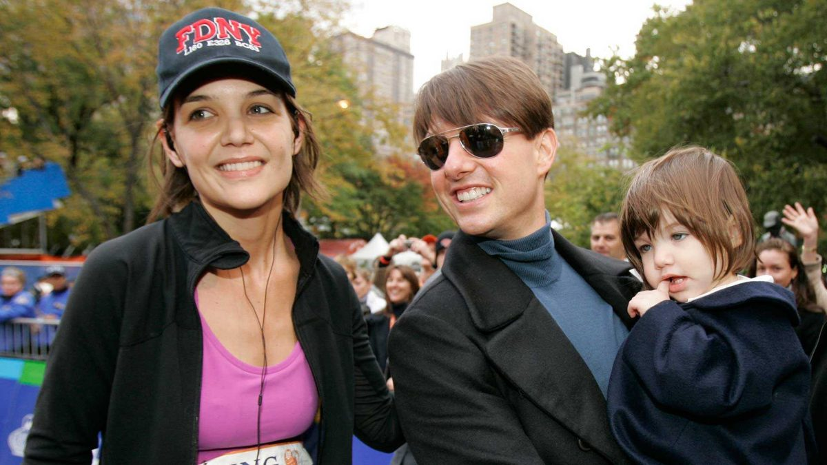 Así luce la hija de Tom Cruise y Katie Holmes