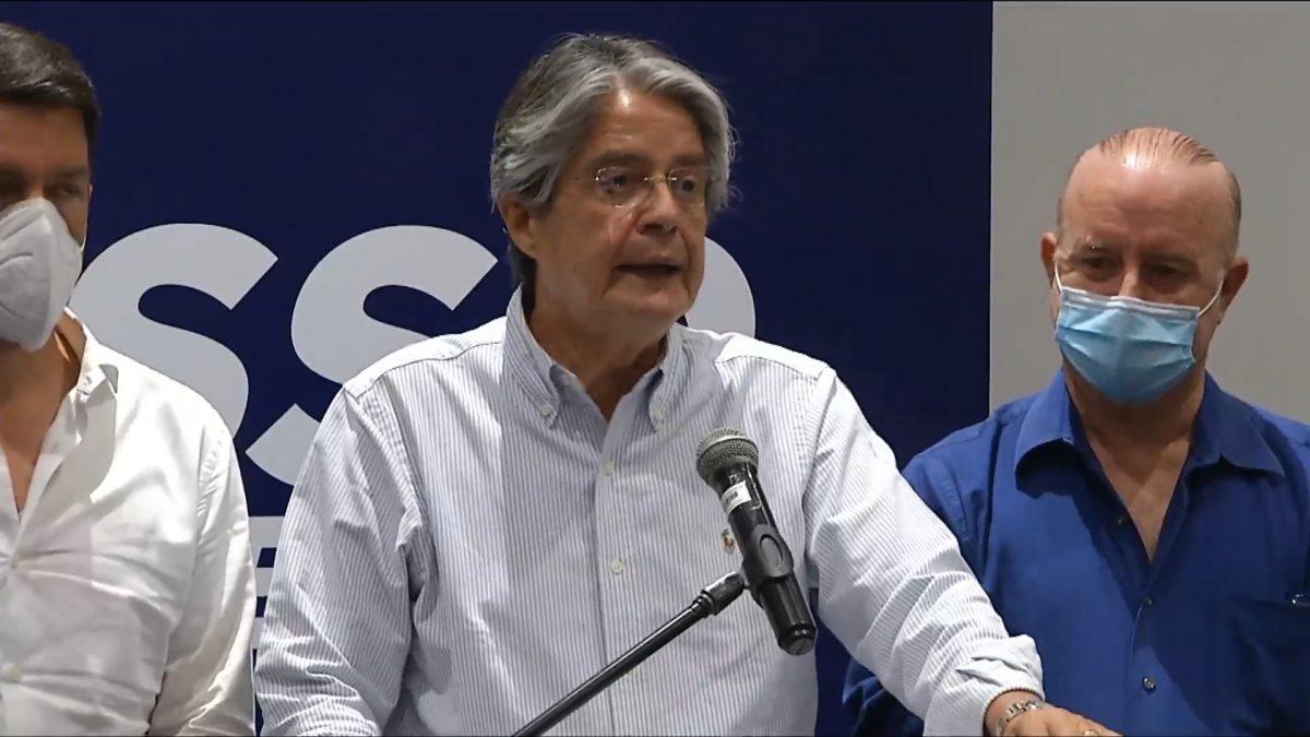 Guillermo Lasso se pronuncia sobre exit poll que le da el triunfo en las urnas