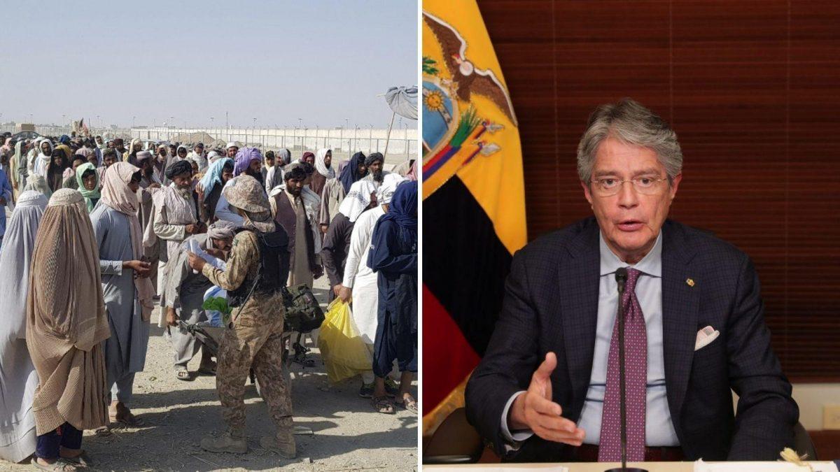 Ecuador brindará protección y ayuda humanitaria a familias afganas