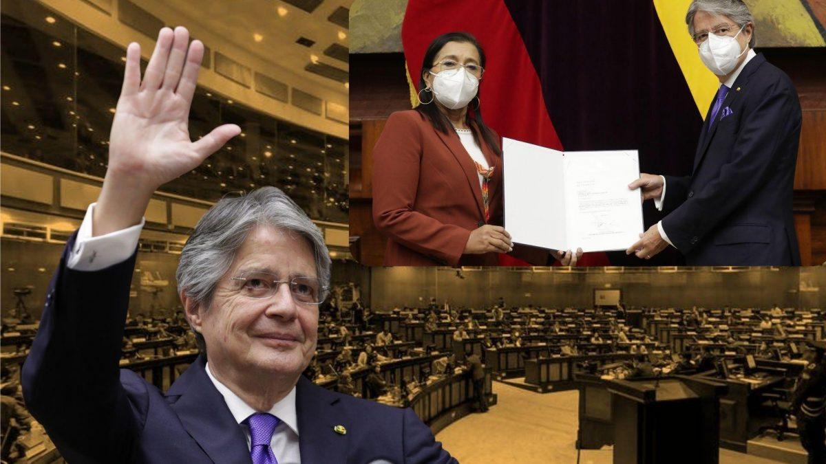 Guillermo Lasso entrega a la Asamblea el proyecto de reformas para la Ley de Educación Superior