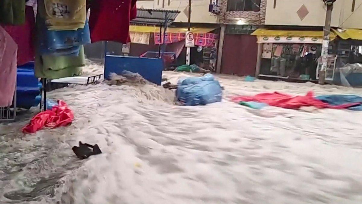 Lluvias en Bolivia dejan nueve muertos y 28.922 familias afectadas