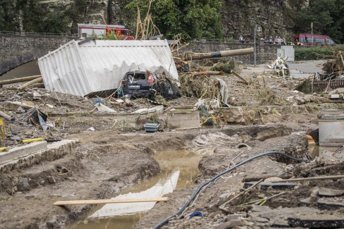 Las inundaciones en Alemania han dejado al menos 42 muertos